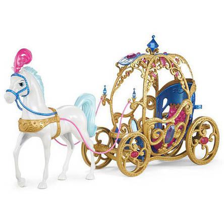 Сказочная карета Золушки с конем Дисней, фото 2