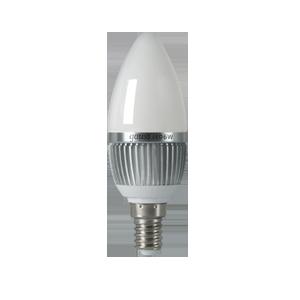 Лампы светодиодные LED тип B (свеча)