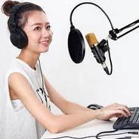 Студійний мікрофон зі стійкою - Music D. J. M-800U