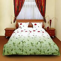 """Комплект постельного белья """"Маки зеленые"""""""