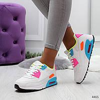Женские кроссовки реплика Nike Air Max найк текстильные  цветные, фото 1