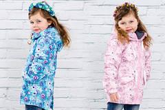 Детская верхняя одежда для девочек весна-осень