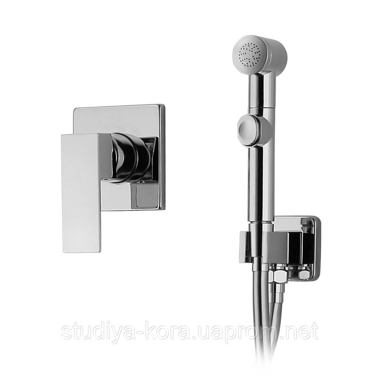 Купить LEON набор (смеситель скрытого монтажа с гигиеническим душем), Volle