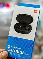 ОРИГИНАЛ беспроводные наушники Xiaomi Mi True Wireless Earbuds Basic (Global) redmi airdots, глобальная версия