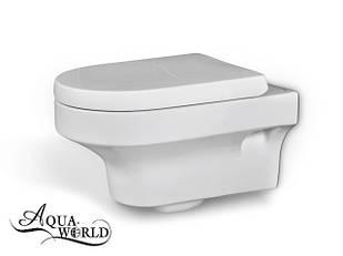 Унитаз подвесной с сиденьем Aqua-World СфХн.0757