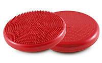 Подушка балансировочная массажная BALANCE CUSHION (d=33см) FI-4272 Красный