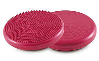 Подушка балансировочная массажная BALANCE CUSHION (d=33см) FI-4272 Розовый