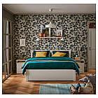 Каркас кровати IKEA SONGESAND 160x200 см белый 603.725.06, фото 5