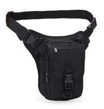 Набедренная поясная сумка-кобура A9001(черный).