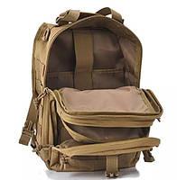 Сумка-рюкзак тактическая военная A92(кайот), фото 2
