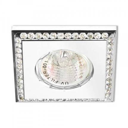 Встраиваемый светильник Feron DL102-W прозрачный белый, фото 2