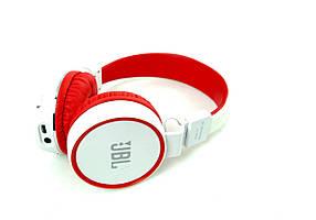 Беспроводные наушники B10 Бело-красные