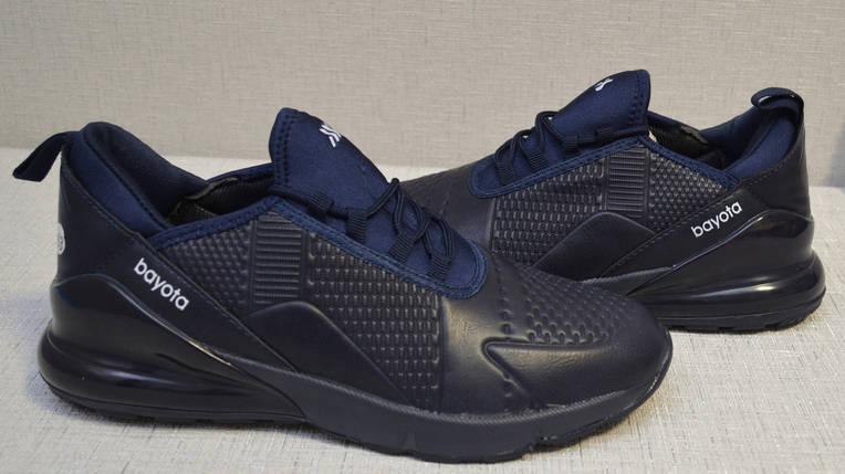 Кроссовки Bayota A1922 тёмно-синие, фото 2
