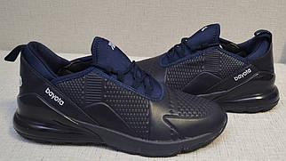 Кроссовки Bayota A1922 тёмно-синие