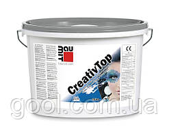 Штукатурка декоративная Baumit Creativ Top Vario (Баумит Креатив Топ Варио) фракция зерна 1,5 мм ведро 25 кг