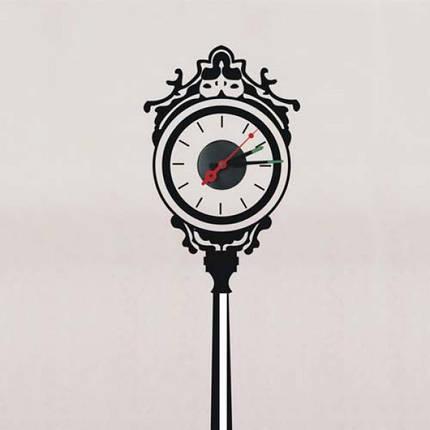 Виниловая наклейка Feron NL34 уличные часы, фото 2