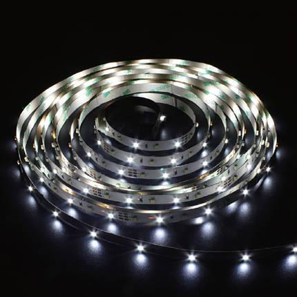 Світлодіодна стрічка Feron SANAN LS612 120SMD/м 12V IP22 білий, фото 2