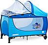 Дитяче ліжко манеж Caretero Grande 2016 Blue