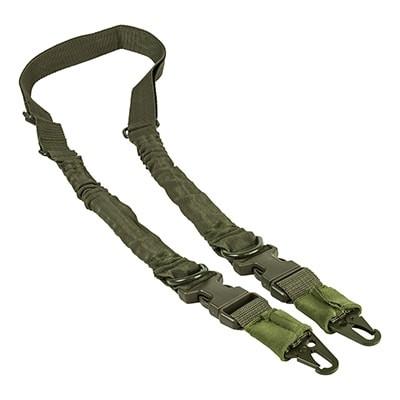 Ремень одно-двухточечный для оружия, зелёный