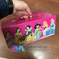 Детский набор юного художника Prinsess 54 предмета в подарочном чемоданчике для рисования и творчества