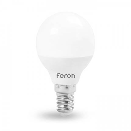 Светодиодная лампа Feron LB-195 7W E14 4000K, фото 2