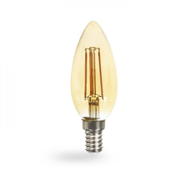 Светодиодная лампа Feron LB-58 золото 4W E14 2200K