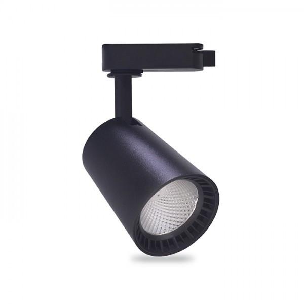 Трековий світильник Feron AL100 8W чорний
