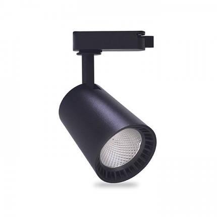 Трековий світильник Feron AL100 8W чорний, фото 2
