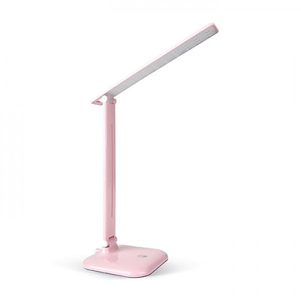Настільний світлодіодний світильник Feron DE1725 рожевий