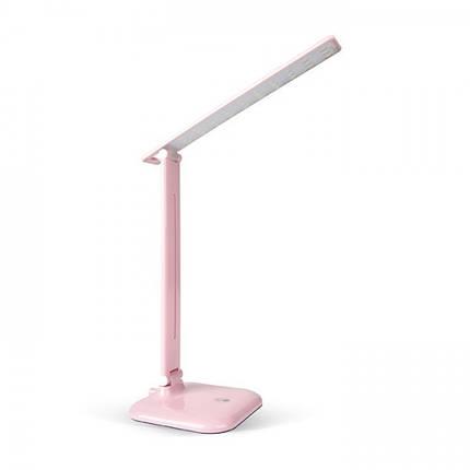 Настільний світлодіодний світильник Feron DE1725 рожевий, фото 2