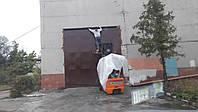 Ворота металлические на склад