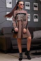 """1316/7 Молодежное стильное платье """"Лео"""", фото 1"""