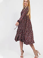 Vikamoda Лёгкое платье в стиле бохо  2937