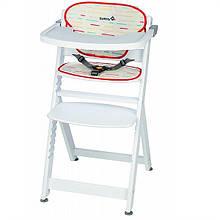 Стільчик для годування White Safety Timba з вкладкою