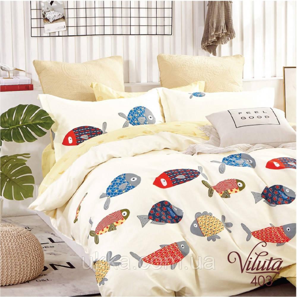Подростковое постельное белье Сатин Вилюта 403