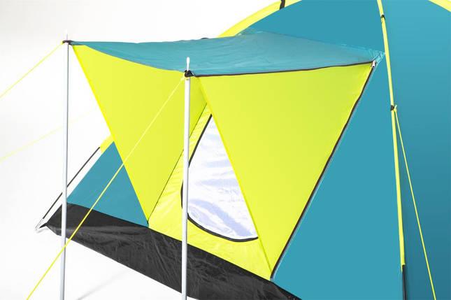 Палатка туристическая Bestway 3-местная 68088, 210x210x120см, фото 2