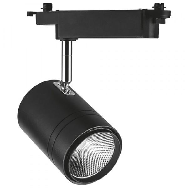 Трековий світильник Feron AL104 50W чорний