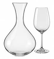 Набор для вина 7 предметов Viola Bohemia 31AA8/1500/7