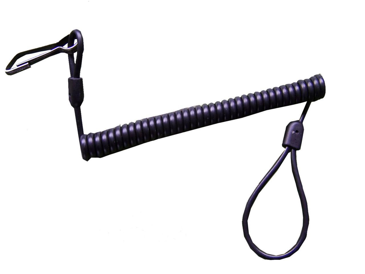 Спиральный шнур для пистолета Roco, черный
