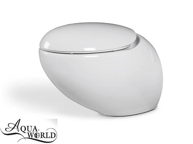 Унитаз подвесной с сиденьем Aqua-World СфЕг.0010
