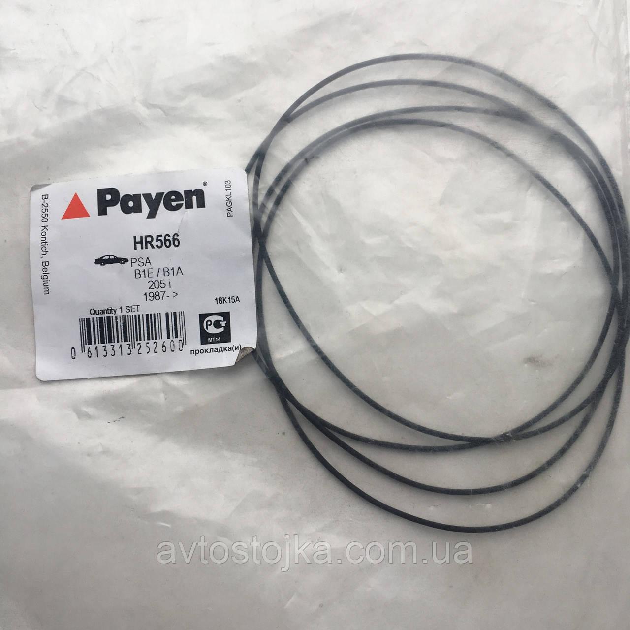 Уплотнительное кольцо (4шт. к-т) гильзы цилиндров Samand 1.8 (Саманд) PAYEN (Франция)