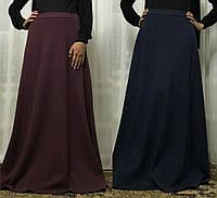 Длинная юбка макси трикотажная, фото 1