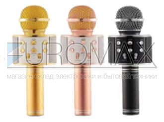 Микрофон DM караоке черный Q-858 50шт 9579