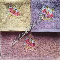 Махровое кухонное полотенце Зонтик