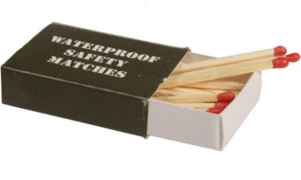 Влагостойкие спички Sturm Mil-tec (4 пачки в упаковке)  (15234000)