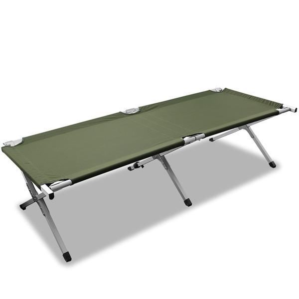 Раскладушка походная алюминиевая MIL-TEC US 190х65см (14402001)