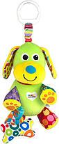 Подвесная игрушка Lamaze Щенок с косточкой TOMY LC27023