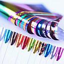Набор переводной фольги для дизайна ногтей 24шт, фото 2
