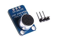 MAX4466 электретный микрофонный усилитель модуль, фото 1