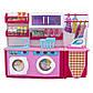 """Мебель для кукол прачечная """"Родной Дом"""" Барби, Брац, розовая, 37x11,5x28,5см (2802S), фото 2"""
